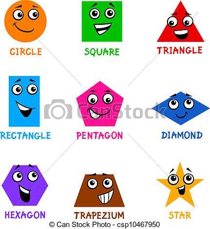 Other clipart basic shape Shapes with Clipart csp10467950 of