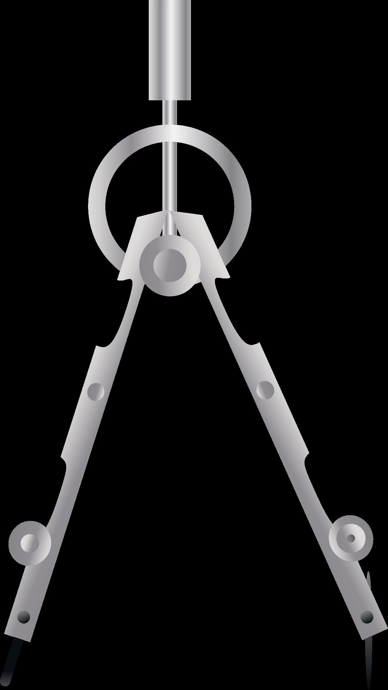 Geometry clipart compas Metal Compass Compass Metal Clipart