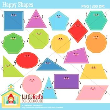 Geometry clipart cute Clip Shapes oval square Shape