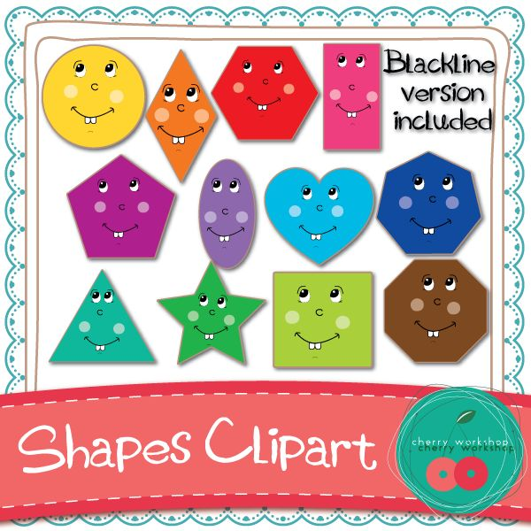 Geometry clipart cute shape To Store handpicked TpT my