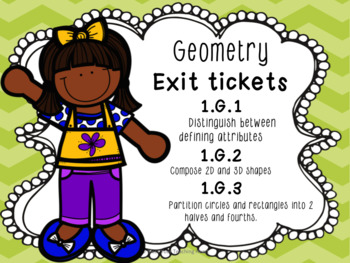 Geometry clipart first grade Exit First by Grade Tickets: