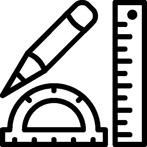 Geometry clipart geometry set Drawing Tools measure rulers set