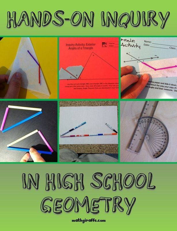 Geometry clipart high school math Geometry Teaching Inquiry Hands ideas