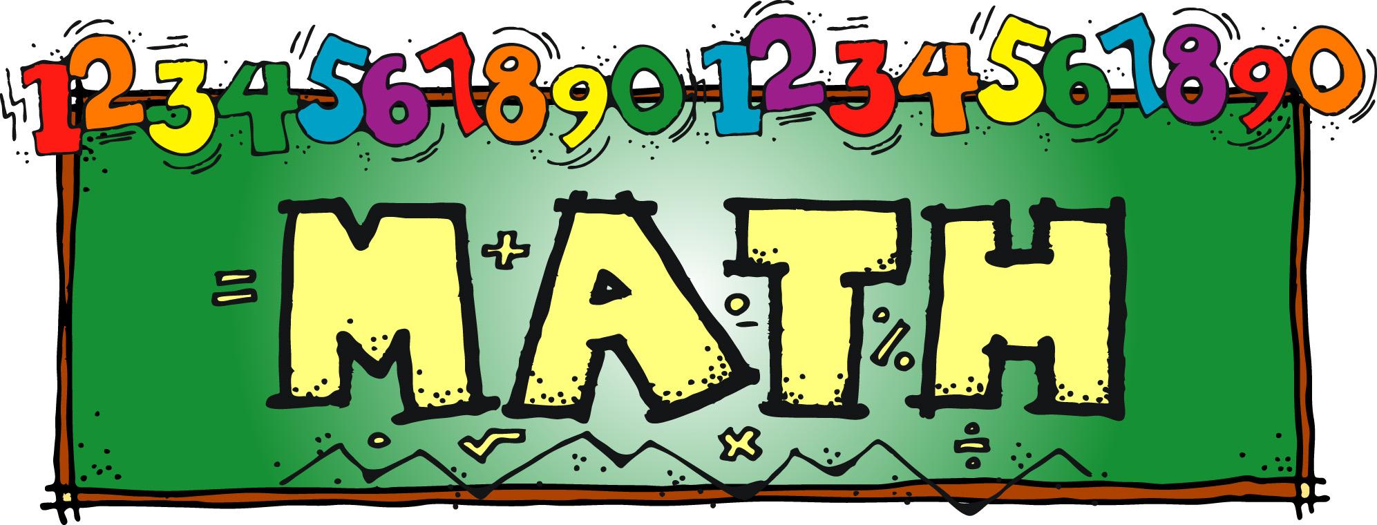 Number clipart math problem Math art Cliparting kid clipart