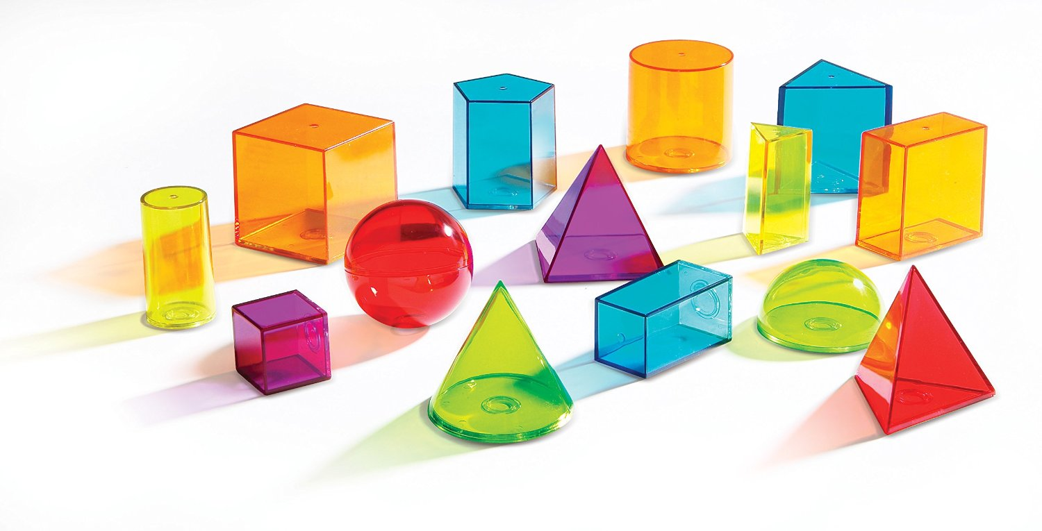 Geometry clipart learning material Geometric solids Have Primary be