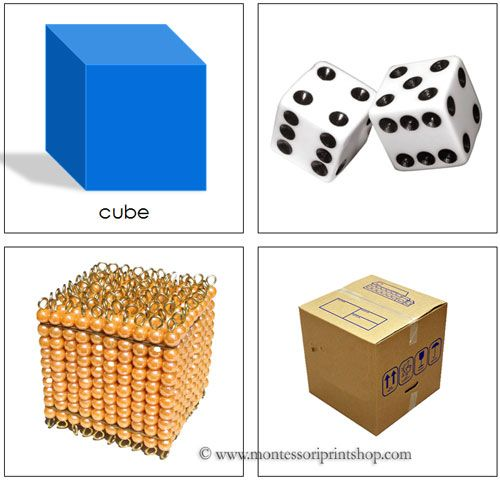 Geometry clipart learning material Cards for on Materials school