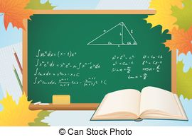 Geometry clipart math book With book math geometry autumn