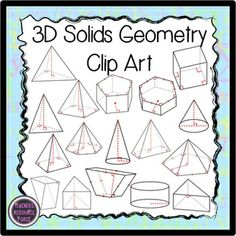 Geometry clipart math project Christmas Quadrilateral Project  Geometry