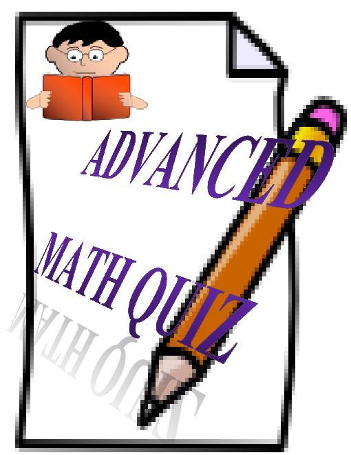 Geometry clipart math quiz And Quiz Geometry Advanced com