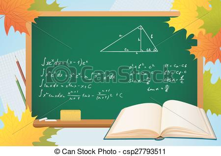 Geometry clipart mathematics Board the background on of