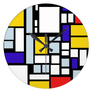 Geometry clipart primary color In Gifts Primary Clock Design
