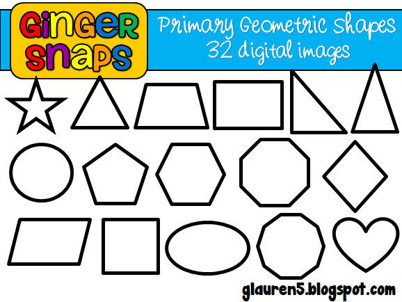 Geometry clipart primary color A Shapes shapes colors Snaps