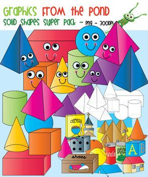 Stone clipart solid object #15