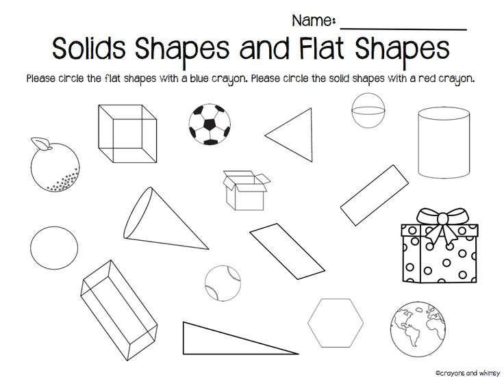 Geometry clipart solid figure Ideas flat on shapes solid