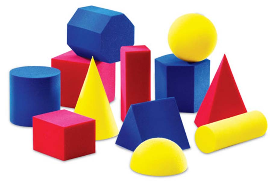 Geometry clipart solid figure Solids Geometric Line clipart Labeled