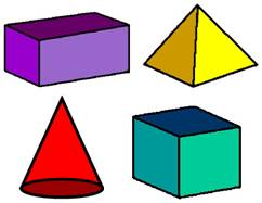 Geometry clipart solid figure 3d Shapes Clipart Geometric cliparts