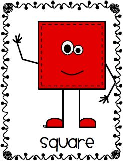 Geometry clipart square shape On Shape about Square Posters