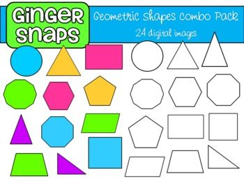 Geometry clipart square shape On Geometric images Art Clip