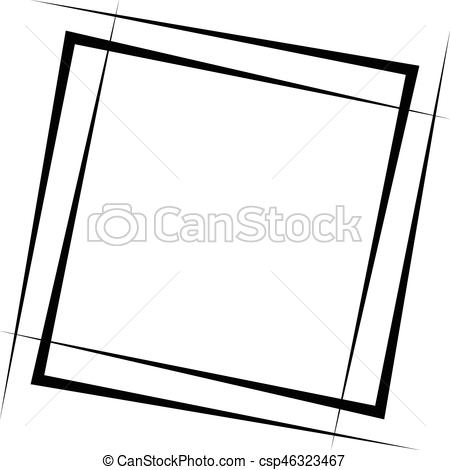 Geometry clipart square shape Lines Intersecting Element Geometric Geometric