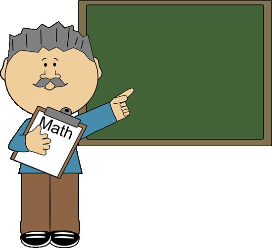 Geometry clipart teacher Student And Teacher Math Art