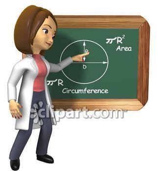 Geometry clipart teacher Geometry education math career D