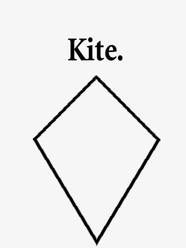 Square clipart kite Kite Printable geometry Free