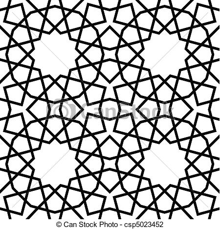Geometry clipart vector Of Seamless Seamless Pattern Vector