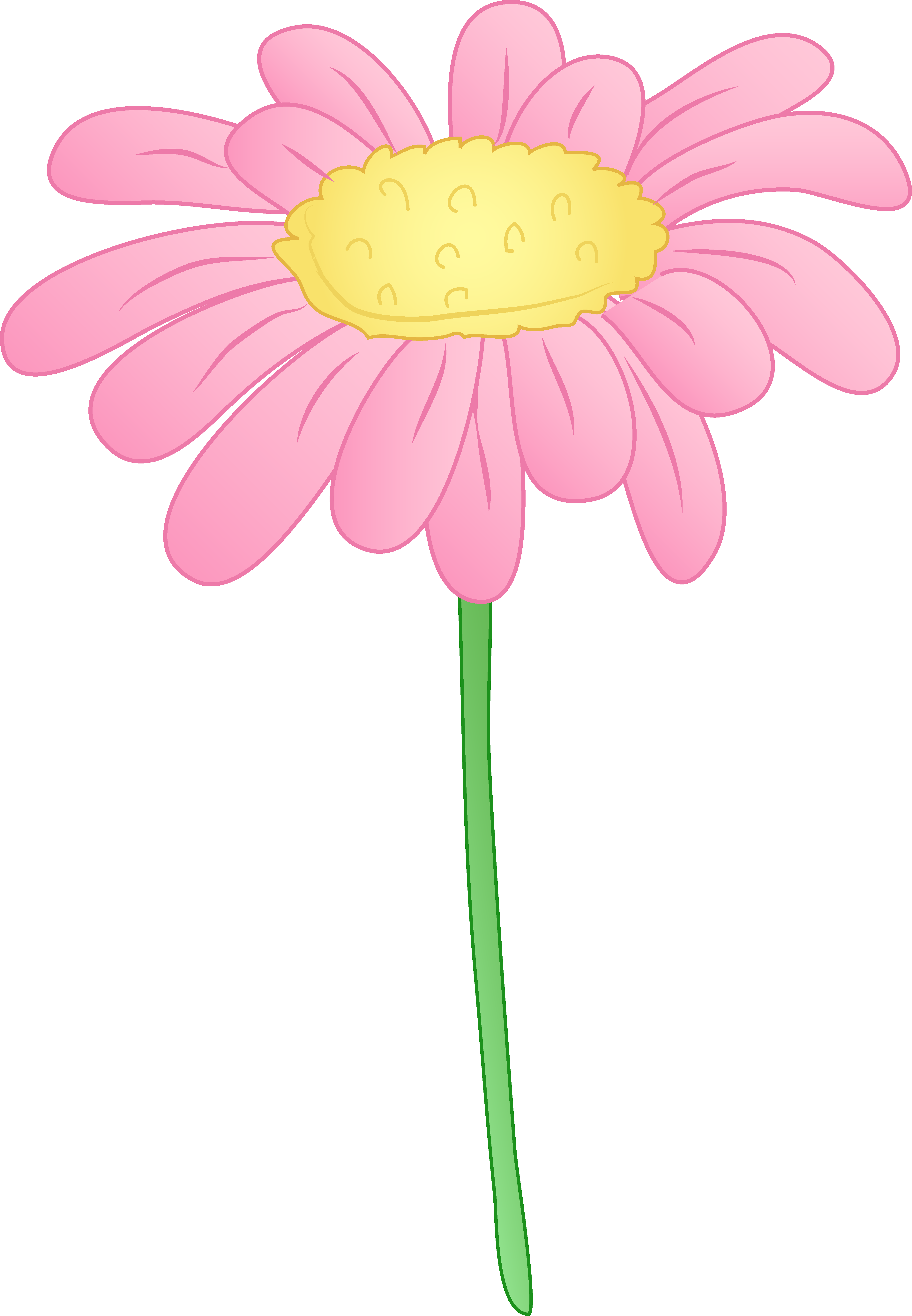 Elower clipart pink flower Clip Border Free Images Clip