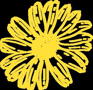 Gerbera clipart sunflower Gold Clip vector Gold Clip