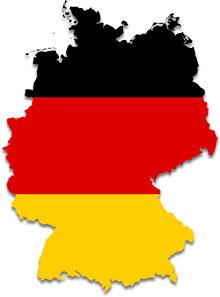 German clipart Flags German map Clipart German