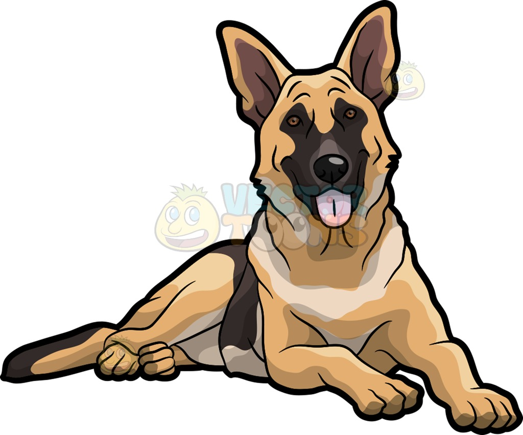 Germany clipart german shepherd puppy Clipart A Clipart A Shepherd