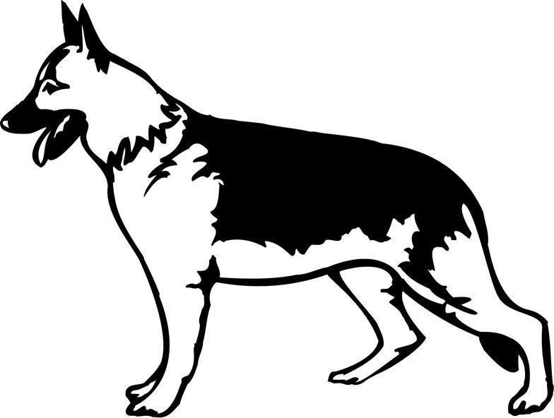German Shepherd clipart Others White Cartoon Shepherd German