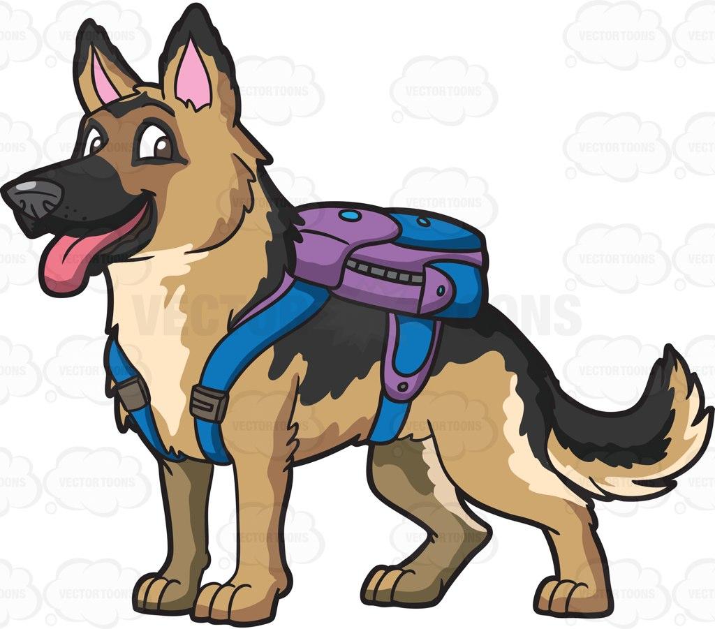 German Pinscher clipart Clipart Dog Clipart Shepherd Cartoon