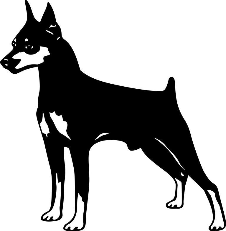 German Pinscher clipart German Others Inspiration Shepherd Cartoon