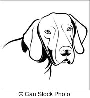 German Shorthaired Pointer clipart Clipart Illustrations shorthaired  illustration