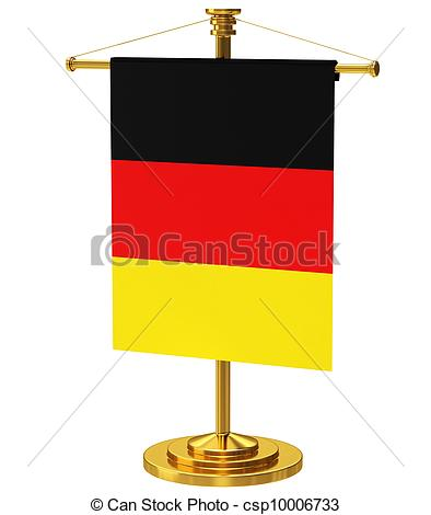 Germany clipart german beer stein With Flagpole csp10006733 Flagpole Germany