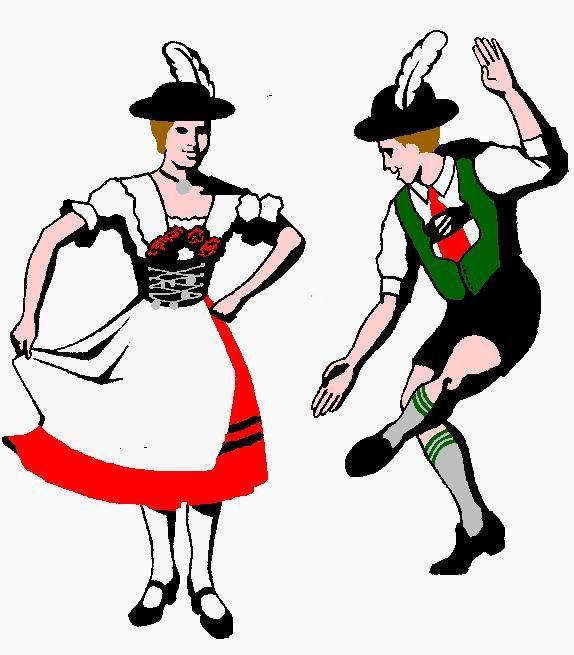 Germany clipart folk dance USA Fahnenweihe May TX G