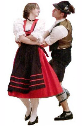 Germany clipart folk dance To Schuhplattlers of The Enter