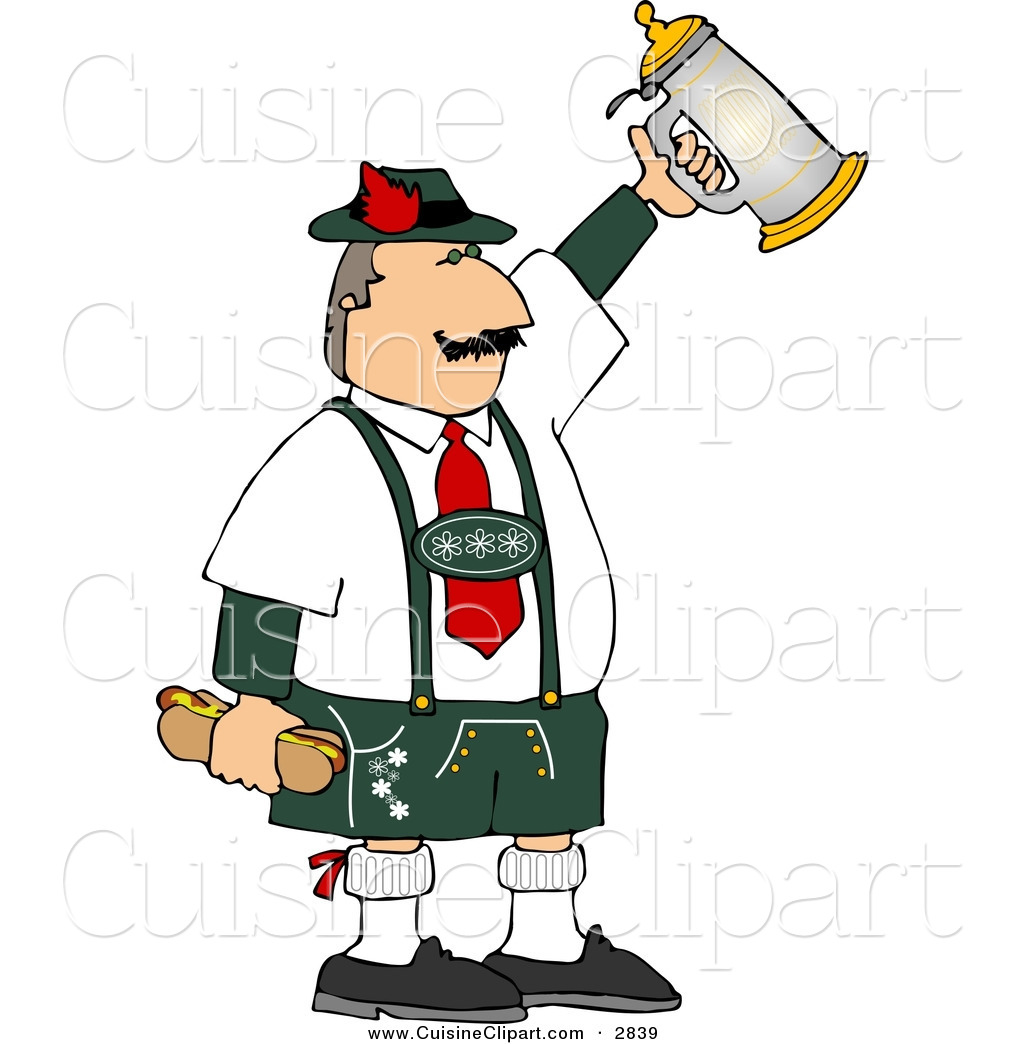 Germany clipart german beer stein A Beer Hot German White