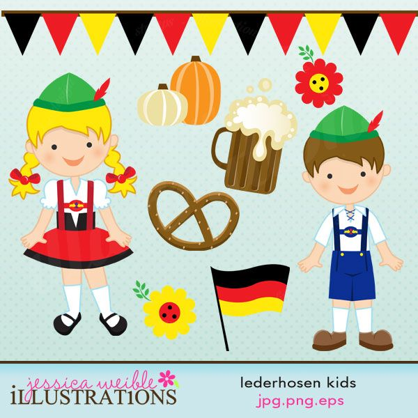 Traditional Costume clipart germany Art Clip Panda Images Clipart