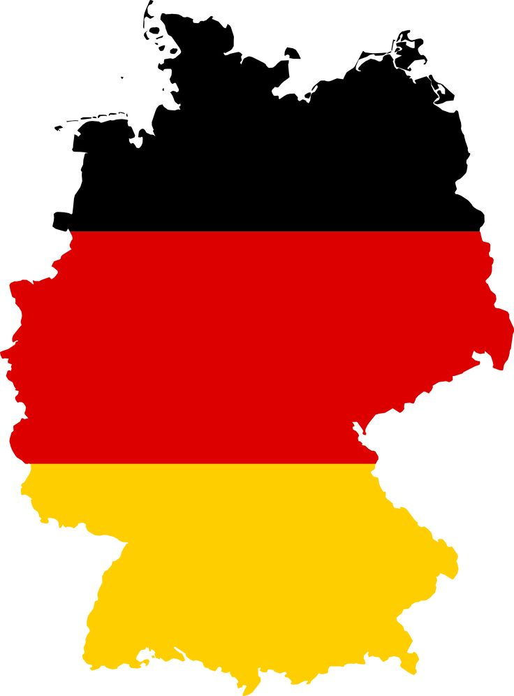 Germany clipart german food Germany of File:Flag map ideas