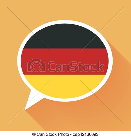 Germany clipart german language Germany White flag Vector German