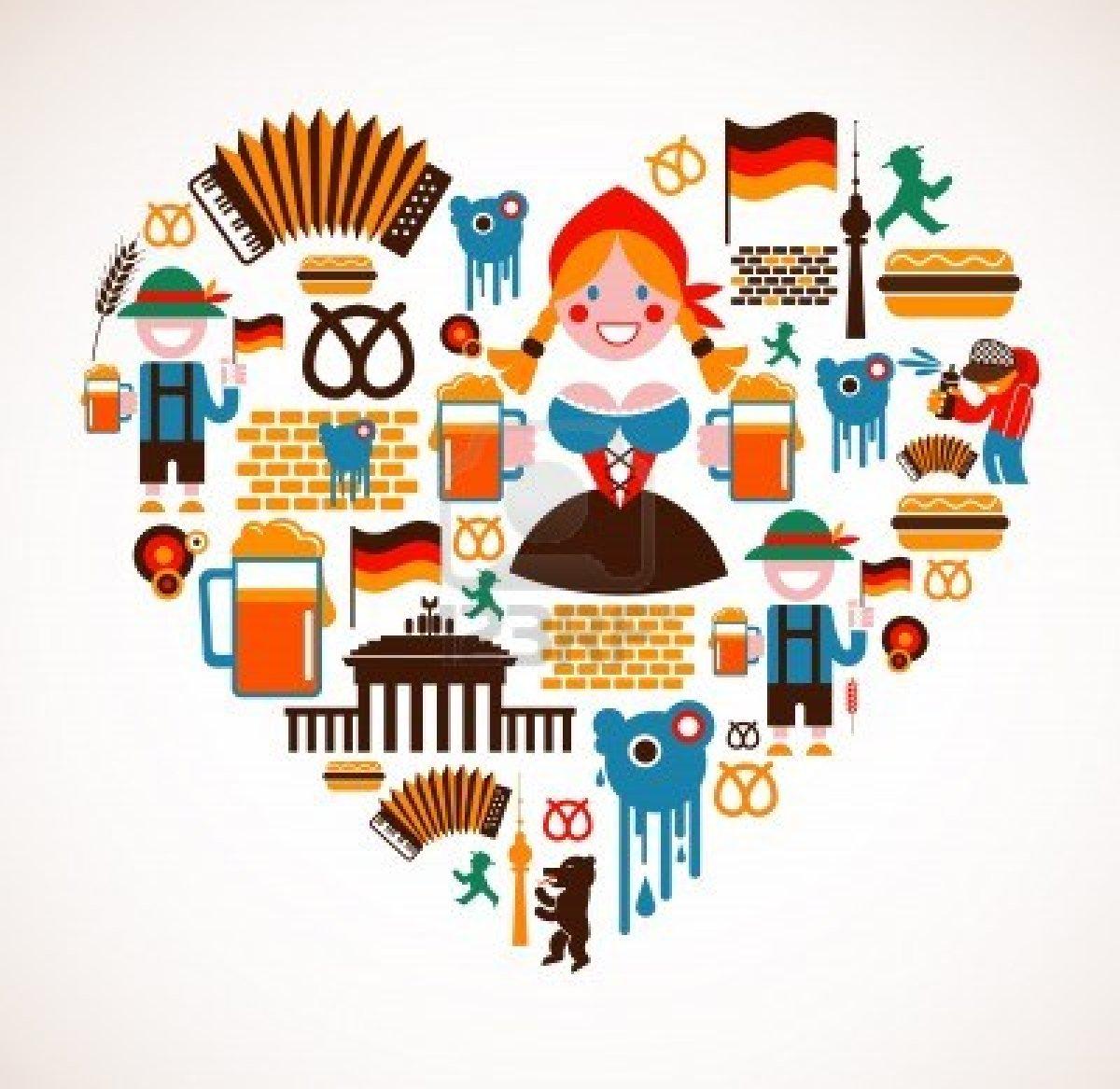 Germany clipart german language Stereotypen  Deutsch Language Pinterest