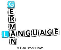Germany clipart german language German 3D of Germany Crossword