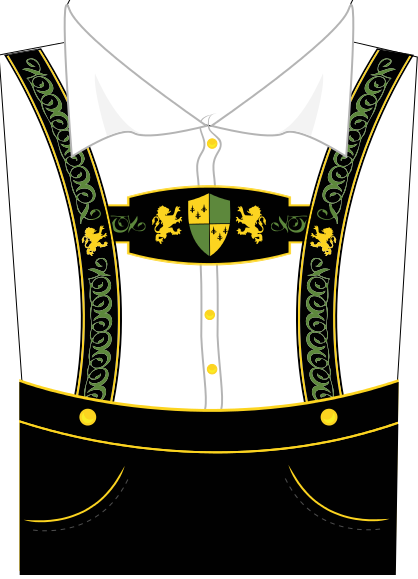 Coture clipart german And Suspenders Pinterest Lederhosen Clipart