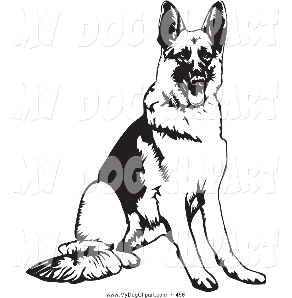 Germany clipart german shepherd puppy Shepherd Coloring coloring German Page