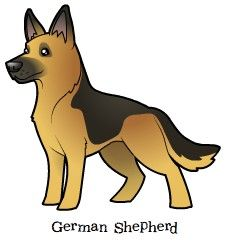 Germany clipart german shepherd puppy Puppies Cartoon german Find Shepherd