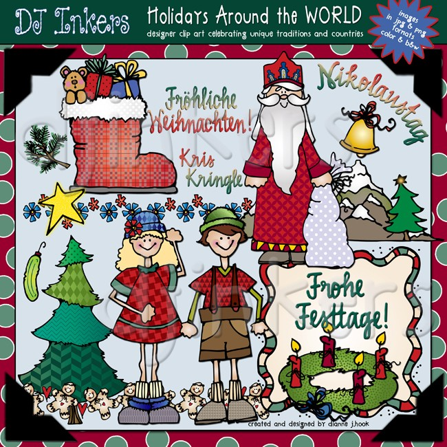 Germany clipart germany Christmas clip & Inkers art