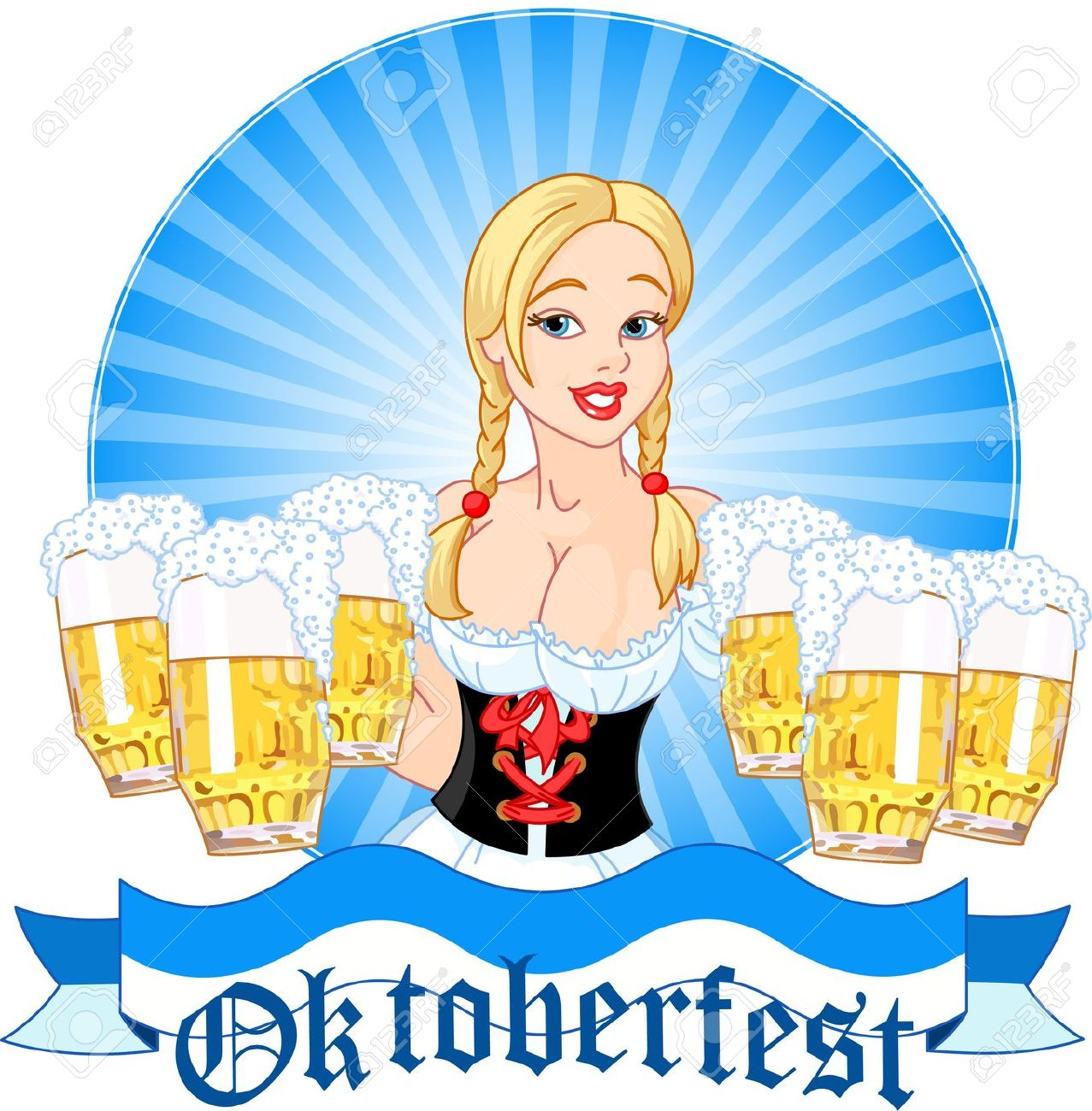 Pub clipart german beer Oktoberfest german Collection Clipart people