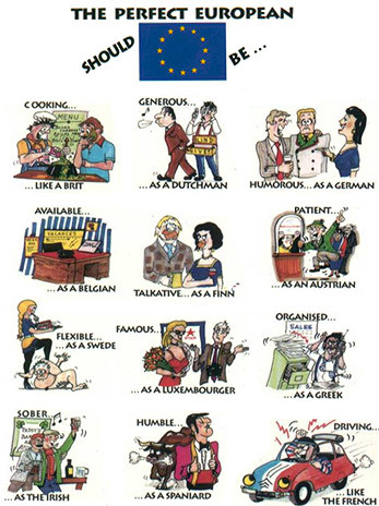 Germany clipart stereotype Stereotypes TV Stereotypes National Tropes